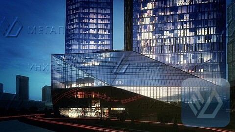 Сдам офис 200 кв.м, бизнес-центр класса A «око Москва Сити» - Фото 4