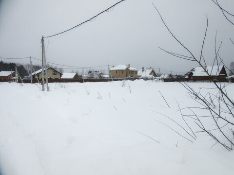 Участок, Пятницкое ш, 35 км от МКАД, Марьино д. (Солнечногорский р-н). . - Фото 5