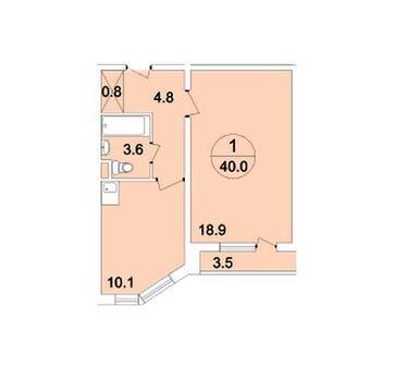 Видовая 1-к квартира улучшенной планировки в лучшем ЖК - Фото 1
