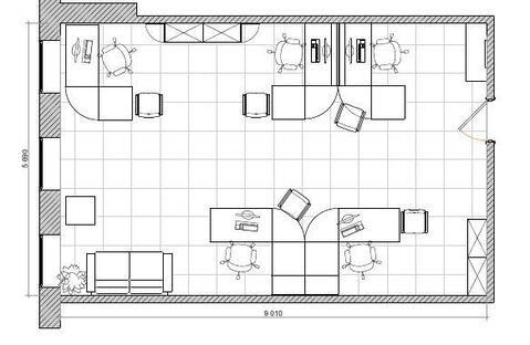 Аренда офисного помещения 50 кв.м. 3/14 эт. - Фото 4
