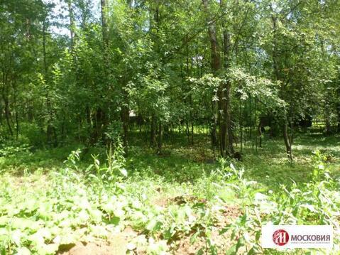 Лесной земельный участок 15 соток, все коммуникации, 30 км от МКАД - Фото 2