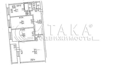 Продажа квартиры, м. Проспект Ветеранов, Ул. Партизана Германа - Фото 1