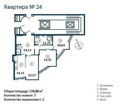 Супер предложение элитна трехкомнатная квартира на Крестовском острове - Фото 2