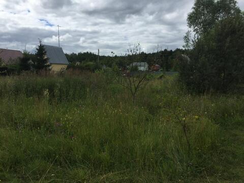 8 соток в жилой деревне Пешково Чеховского района - Фото 3