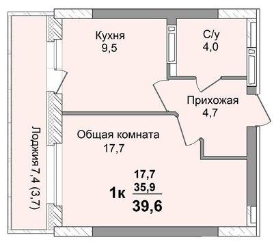 Продам 1к на пр. Комсомольский, 29 - Фото 4