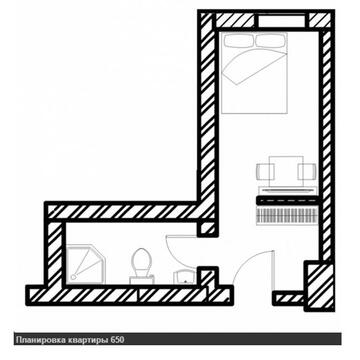 """Апартаменты с отделкой в гост. """"Восток"""" - Фото 4"""