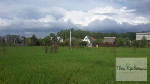 Участок 12 соток под прописку в селе Ивановское Ступинского района - Фото 3