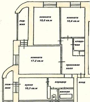 3-комнатная квартира в отличном состоянии - Фото 5