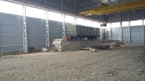 Продам производственный комплекс с ж/д 2 000 кв.м. - Фото 1