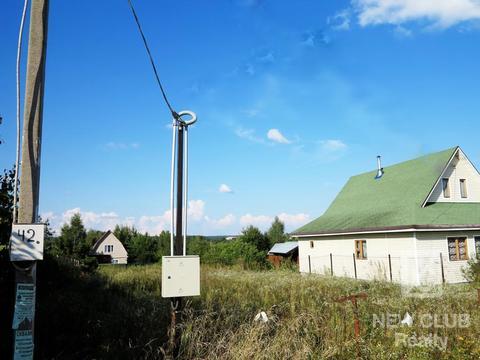 Участок 7 соток в деревне Аниково 10 км от Звенигорода. 50 км от МКАД. - Фото 1