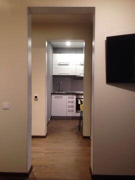 Однокомнатная квартира с шикарным дорогим евроремонтом, с мебелью - Фото 3