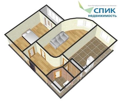 Продажа видовой 2 к квартиры на Ленинском проспекте в спб - Фото 2