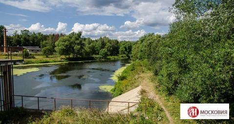 Участок 50,68 соток с выходом к реке, 25 км от МКАД по Калужскому ш. - Фото 1