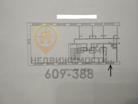 Продам комнату в 5-к квартире, Новокузнецк г, улица Циолковского 9 - Фото 3