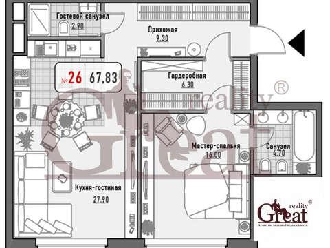 Продажа квартиры, м. Третьяковская, Ул. Ордынка М. - Фото 1