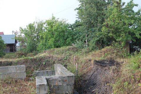 Продается большой участок с фундаментом под дом в деревне Голубино - Фото 2