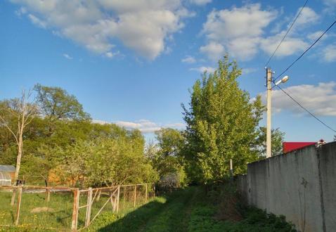 Участок 4,7 сотки у леса, на берегу реки. г. Климовск, СНТ Дубрава - Фото 2