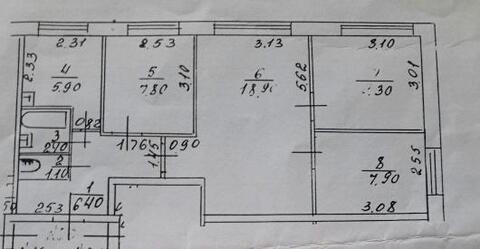 4 комнатная квартира в селе Большое Мокрое - Фото 1