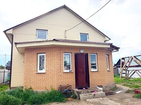 Дом 155 кв.м. Правобережный район, СНТ Просвещение - Фото 1