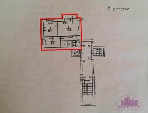Продается 2-к квартира, г.Одинцово, Можайское шоссе, д.76 - Фото 2