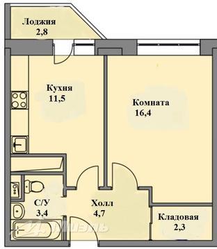 Продажа квартиры, Домодедово, Домодедово г. о, Лунная улица - Фото 1