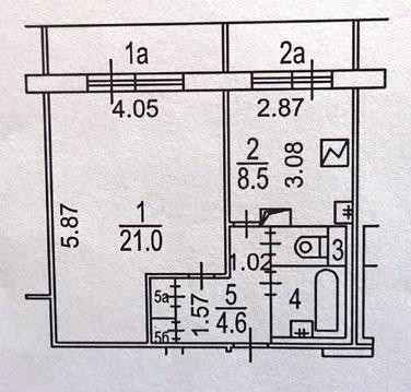 Срочно уютную чистую современную 1 ком. квартиру в хорошем состоянии - Фото 1