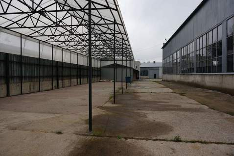 Склоадская база 1650 м2, земли 1,5га, м.Буревестник - Фото 1