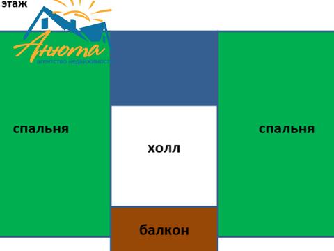 Продается двухэтажный новый дом вблизи деревни Сатино Боровского район - Фото 5