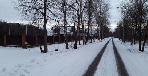 Участок, Калужское ш, 25 км от МКАД, Кузенево, котеджная застройка. . - Фото 2