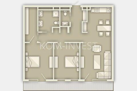 3-комнатная квартира в новостройке в центре Юрмалы, в Майори - Фото 1