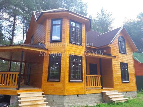 Новый загородный дом на лесном участке, граничит с лесом. - Фото 2
