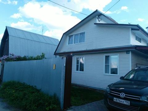 Продаётся дом в д.Сабурово, Продажа домов и коттеджей Сабурово, Щелковский район, ID объекта - 502709108 - Фото 1