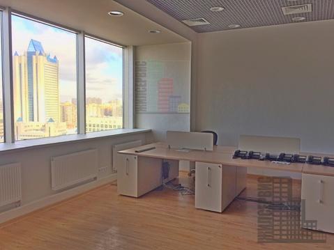 Офис с видом на Газпром, 87,5м, бизнес-центр класс А, метро Калужская - Фото 1