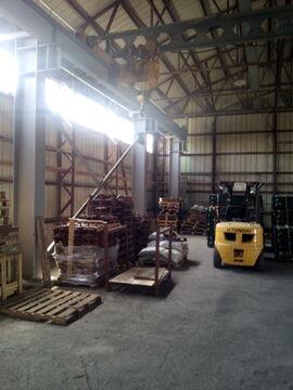 Холодный склад 560 кв.м. с кран-балкой в Цемдолине. - Фото 4