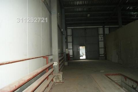 Под произ-во/склад, отаплив, выс. потолка: 8 м, возм. офис. площ. /от - Фото 5