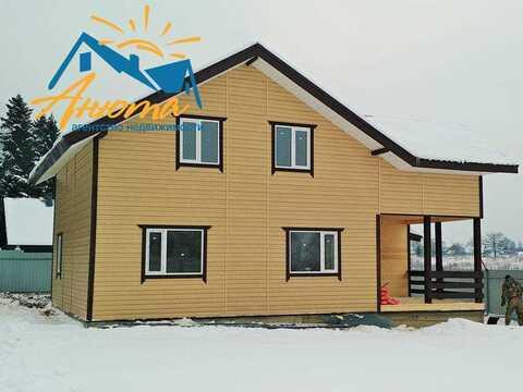 Продается большой дом С магистральным газом и гаражом в деревне на бер - Фото 1