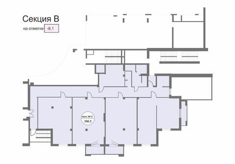 Торгово-офисное помещение от 335 кв.м.в Центре города - Фото 4