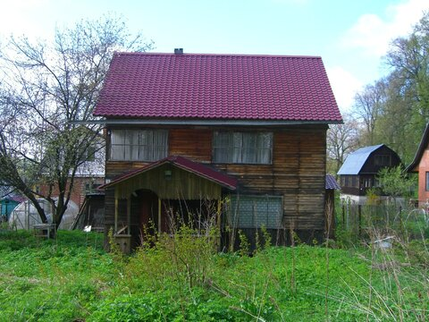 Дача в Ступинском районе, Московская область. - Фото 1
