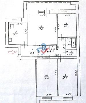 Квартира по адресу ул. Аксакова, 60 - Фото 5