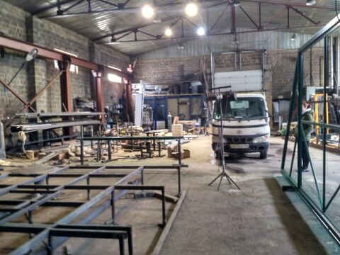 Производственно-складское помещение 537 кв.м. - Фото 1