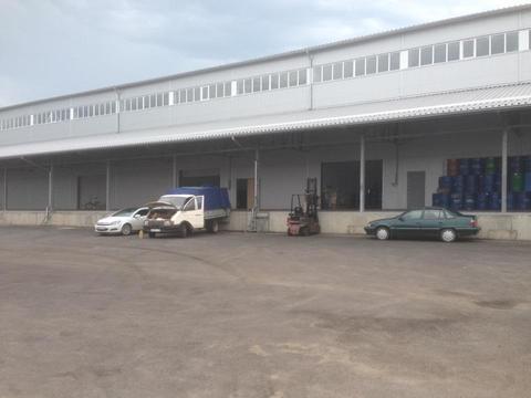 Нового склада на рампе, 1490 м2, р-н кмр ул.Бородинская. - Фото 1