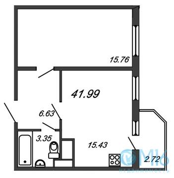 Продажа 1-комнатной квартиры, 41.99 м2, Воронцовский б-р - Фото 2