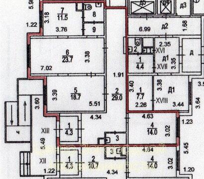 Помещение свободного назначения, Бунинская Аллея, 110 кв.м, класс B. . - Фото 3