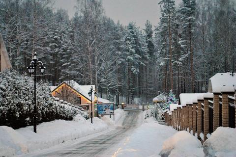 Пп земля коттеджный поселок коммуникации дорогая асфальт лес пруд - Фото 3