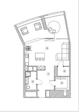 Продается двухкомнатная квартира в цетре Казани ул.Альберта Камалеева - Фото 4