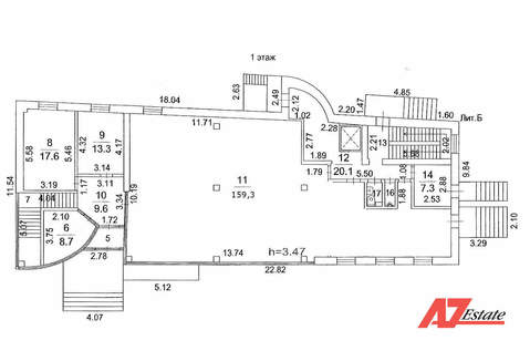 Аренда, 183 кв. м на 1-м этаже в Торговом центре, МО, Молоково. - Фото 3
