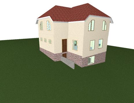 3 х этажный дом. р-он села Урожайное - Фото 2