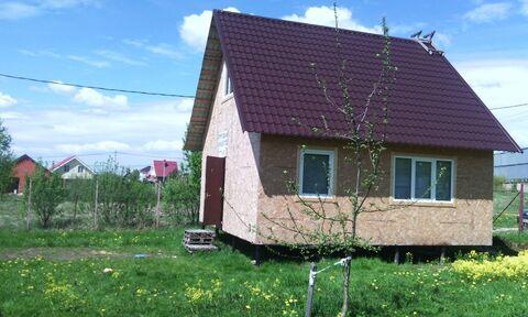 Дом в Чеховском районе, д. Захарково - Фото 1