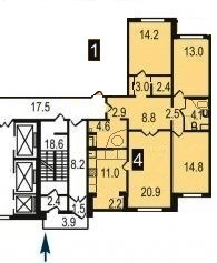 4-комнатная квартира рядом со станцией - Фото 2