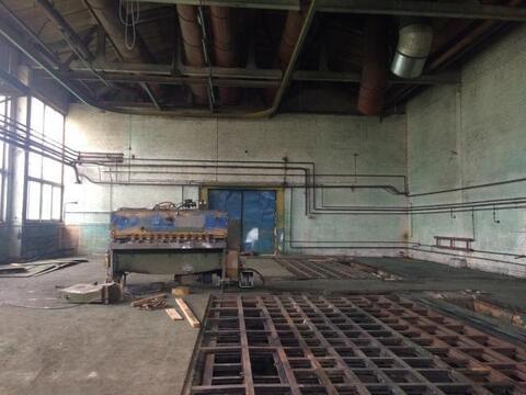 Аренда производственного помещения 481 м2 с терьером 2 тонны - Фото 1